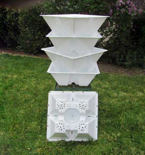 Made in Nevada Stackable Grow Pot for Home Gardens
