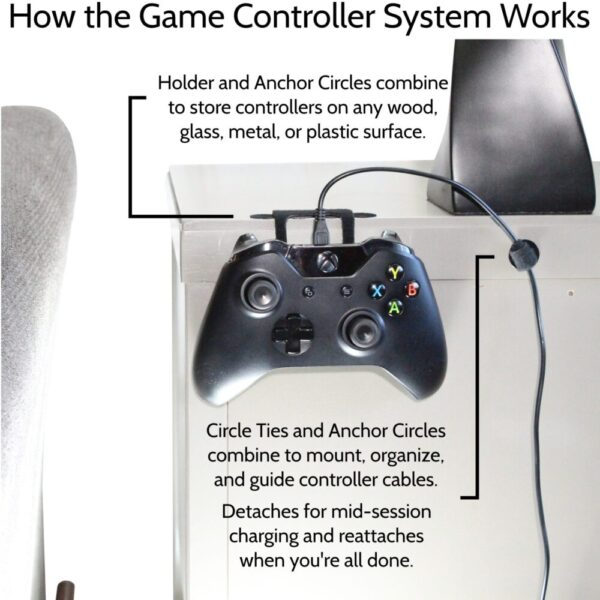 Made in Nevada Game Controller System – Universal Game Controller Organizer