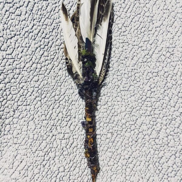Made in Nevada White Smudging Wand