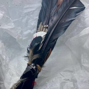 Made in Nevada Raven Themed Smudging Feather