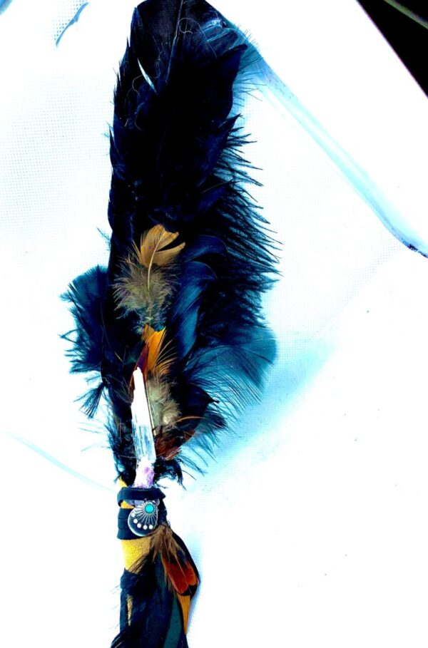 Made in Nevada Raven Inspired Smudging Feathers