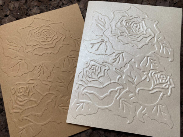 Made in Nevada Set of 10 Embossed Notecards