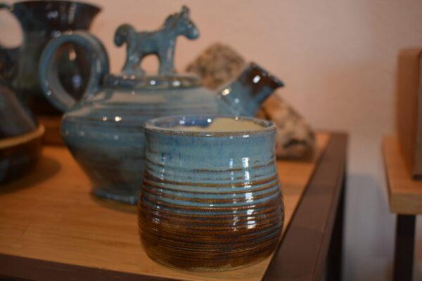 Made in Nevada Horse Tea Pot