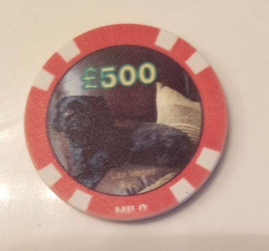 Made in Nevada Personalized Poker Chip