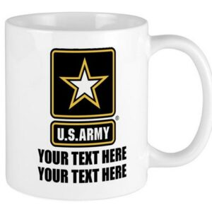 Made in Nevada US Military Branches of Service Personalized Coffee Mug
