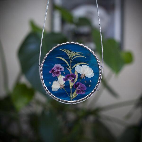 Made in Nevada Pressed Flowers Sling Hangings