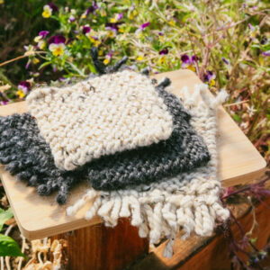 Made in Nevada Knitted Coasters (Pack of 2)