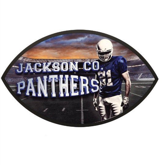 Made in Nevada Personalized Football Plaque