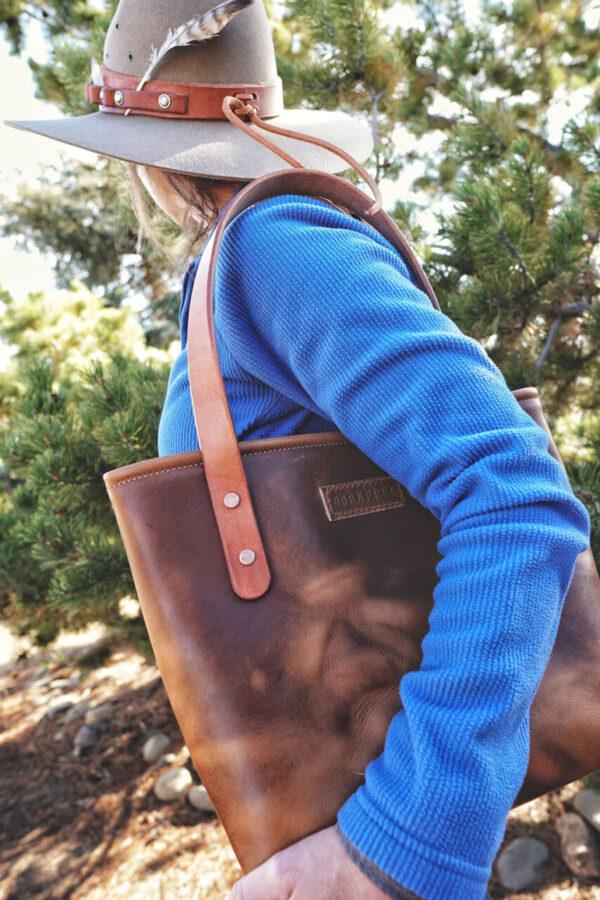 Made in Nevada Wild Tote – Dark English Harvest