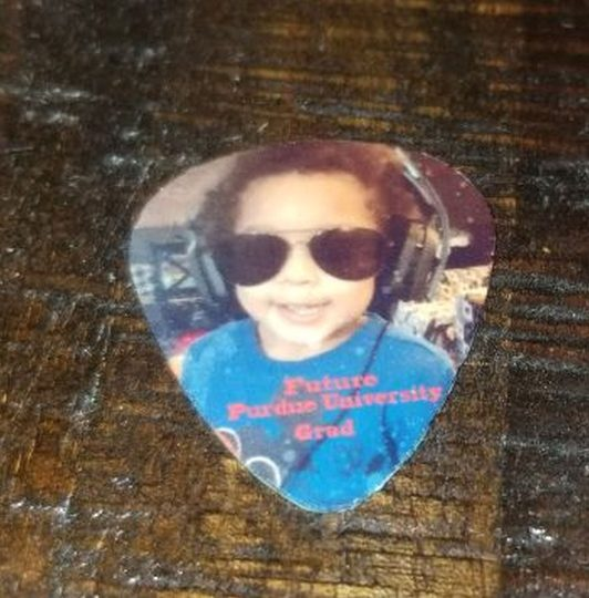 Made in Nevada Personalized Guitar PIck
