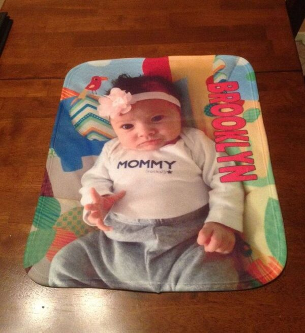 Made in Nevada Personalized Baby Blanket