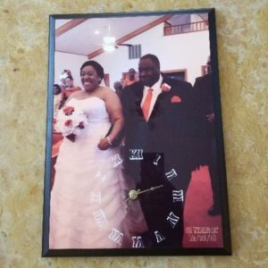 Made in Nevada Personalized Photo Wall Clock