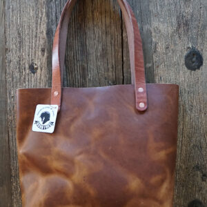 Leather Wild Tote