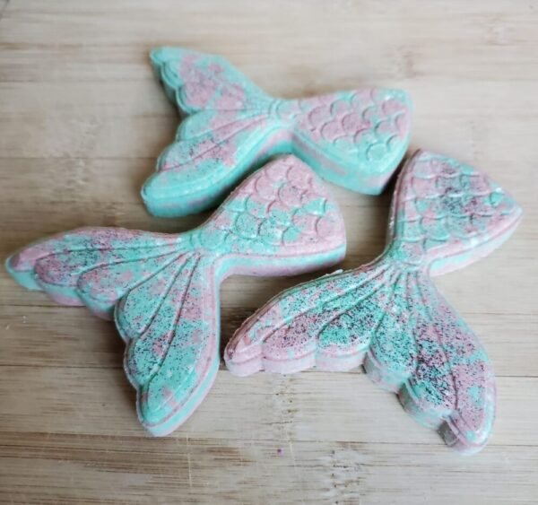 Made in Nevada Solid Bubble Bath Mermaid Tails