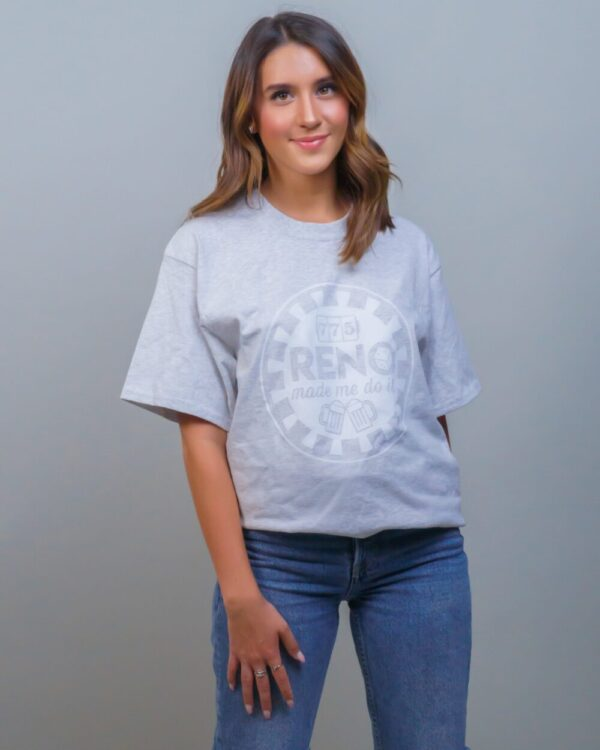 Made in Nevada Women's Reno Made Me Do It Tees