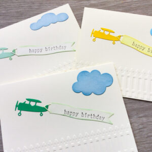 Made in Nevada Airplane Birthday card