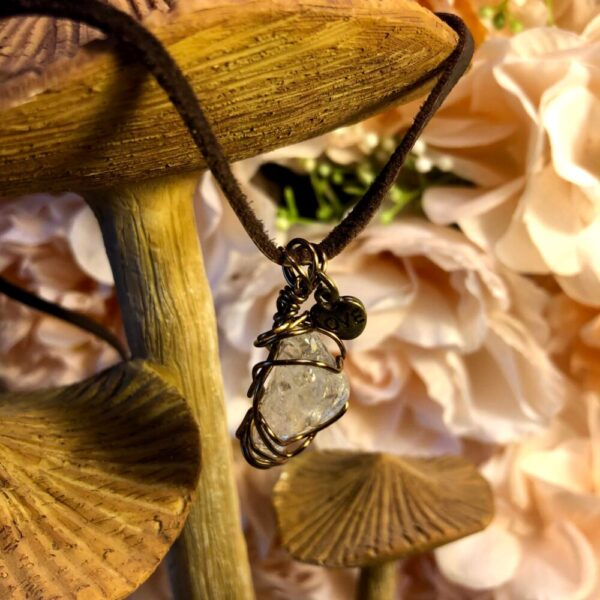 Made in Nevada White Quartz Necklace