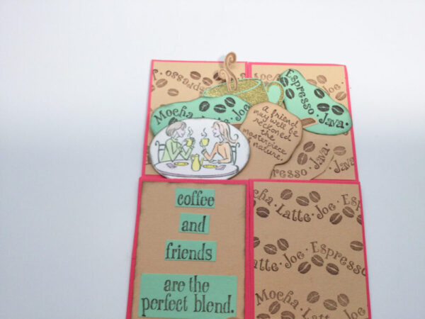 Made in Nevada Coffee and Friends Box Pop Up Card
