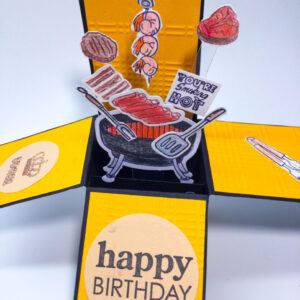 Made in Nevada BBQ Box Pop Up Cards