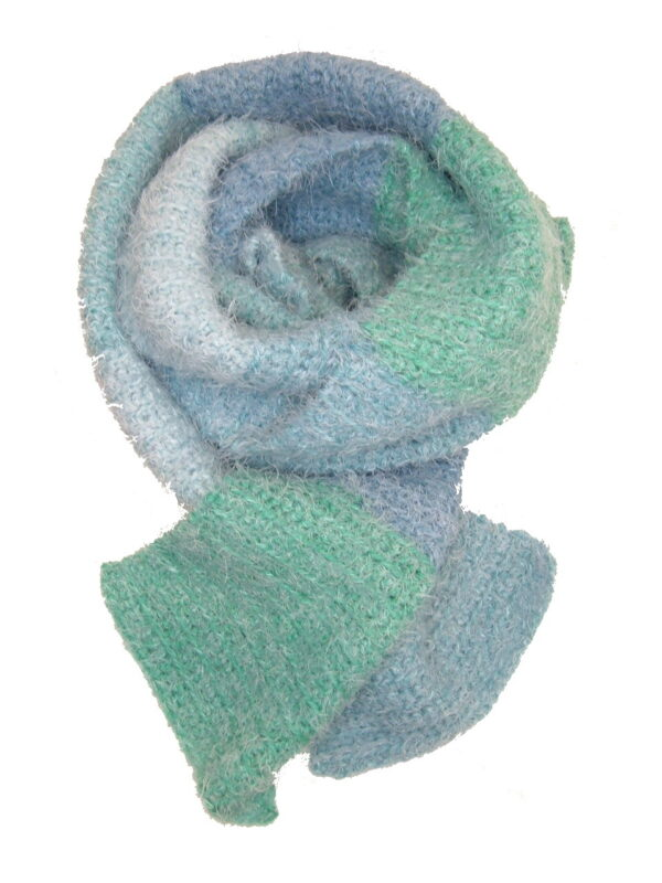 Made in Nevada Boss-sea Brilliance Hand-Crocheted Scarf – Supersoft Luxe and Fall-Winter Collections