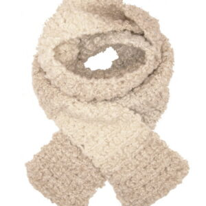 Made in Nevada Champagne Pearl Hand-Crocheted Scarf – Ombre Collection