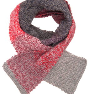 Made in Nevada Coat of Arms Hand-Crocheted Scarf – Tweed and Fall-Winter Collections