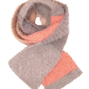 Made in Nevada Apricot Shot Hand-Crocheted Scarf – Supersoft Luxe and Fall-Winter Collections