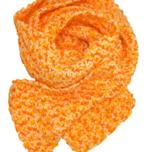 Made in Nevada Creamsical Fudge Hand-Crocheted Scarf – Fall-Winter Collection