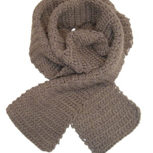 Made in Nevada Down to Earth Hand-Crocheted Scarf – Cool Cotton Collection