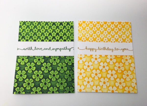 Made in Nevada Flower Embossed Notecards