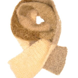 Made in Nevada F-un-earth Hand-Crocheted Scarf – Supersoft Luxe and Fall-Winter Collection