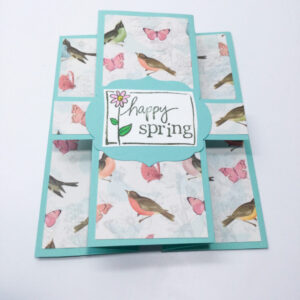 Made in Nevada Happy Spring Card
