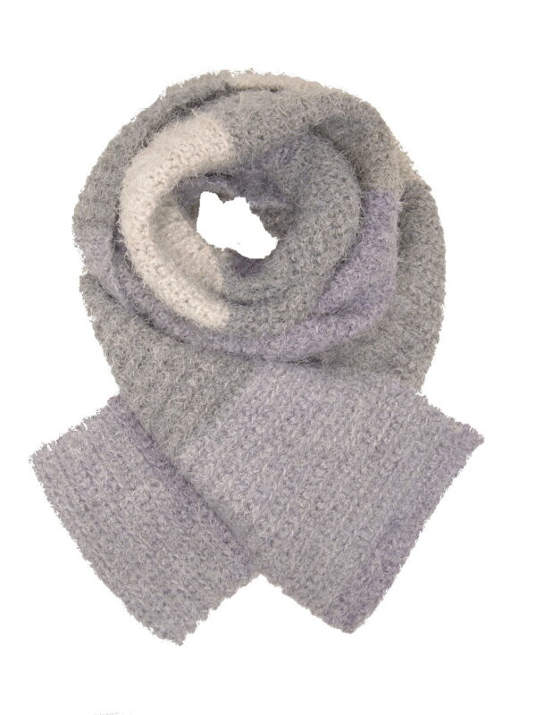 Made in Nevada It's All Fuzzy Hand-Crocheted Scarf – Supersoft Luxe Collection