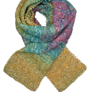Made in Nevada Jewel-osity Hand-Crocheted Scarf – Cool Cotton & Sparkles Collections