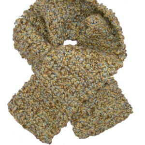 Made in Nevada Weed N Whisky Hand-Crocheted Scarf – Fall-Winter Collection