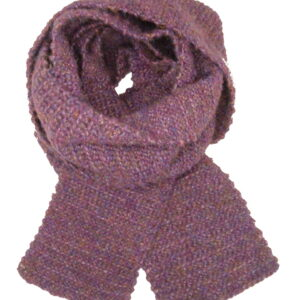 Made in Nevada Plum Good Hand-Crocheted Scarf – Supersoft Luxe Collection