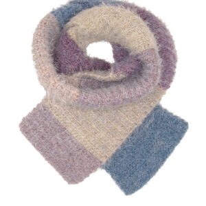 Made in Nevada Pop, Pop, Fuzz, Fuzz Hand-Crocheted Scarf – Supersoft Luxe and Fall-Winter Collections