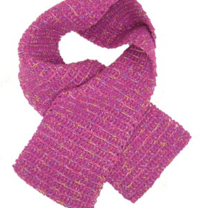 Made in Nevada Sprinkled Frosting Hand-Crocheted Scarf