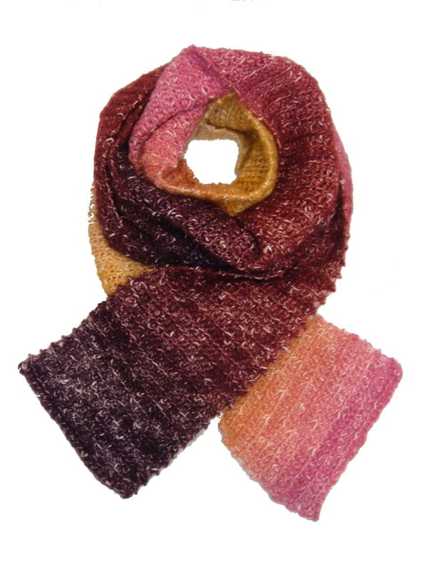 Made in Nevada Supernova Hand-Crocheted Scarf – Spring-Summer Collection
