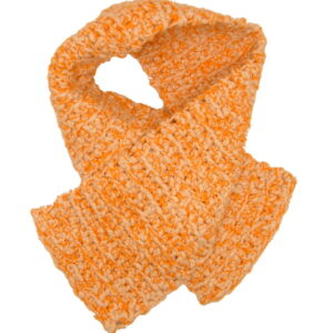 Made in Nevada Tange Tinge Hand-Crocheted Scarf – Cool Twisted Cotton Collection