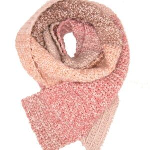 Made in Nevada Tickled Pink Hand-Crocheted Scarf – Tweed and Spring-Summer Collection