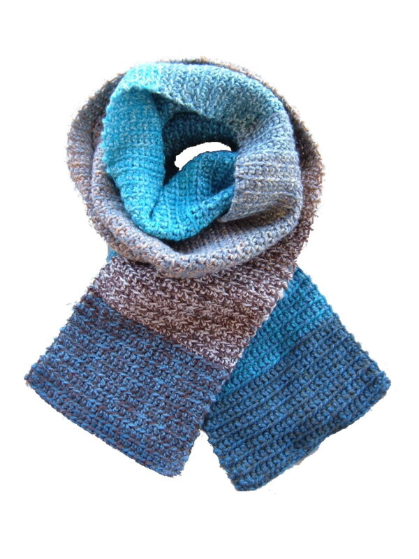 Made in Nevada Tweed-le Dee-light Hand-Crocheted Scarf – Tweed and Fall-Winter Collections