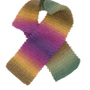 Made in Nevada Violet It Be Hand-Crocheted Scarf (Youth)