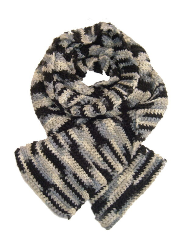 Made in Nevada You've Been Skunk'd Hand-Crocheted Scarf – Spring-Summer Collection