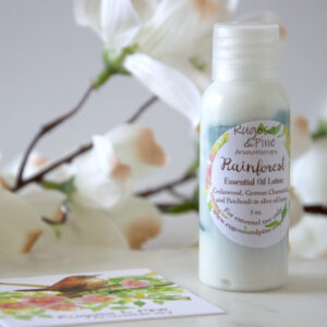 Made in Nevada Rainforest Essential Oil Lotion