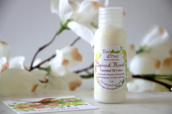 Made in Nevada Spiced Floral Essential Oil Lotion