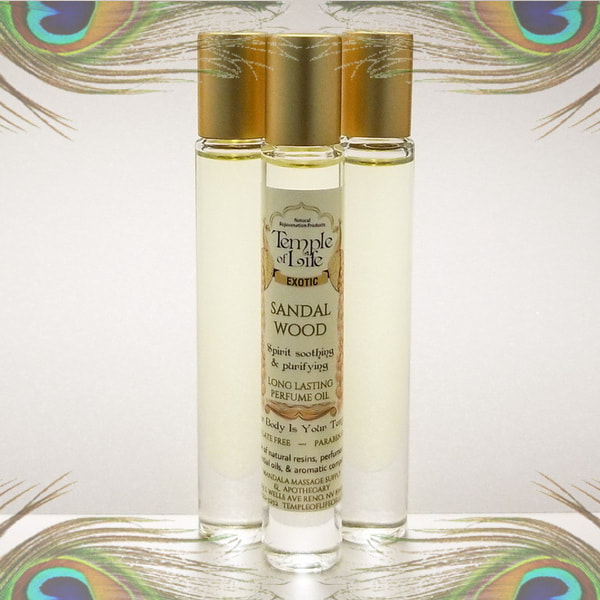 Made in Nevada Sandalwood Exotic Perfume Oil