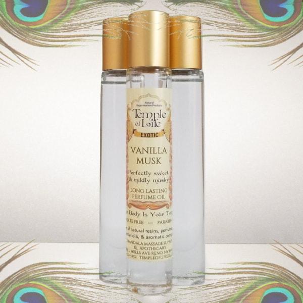 Made in Nevada Vanilla Musk Exotic Perfume Oil