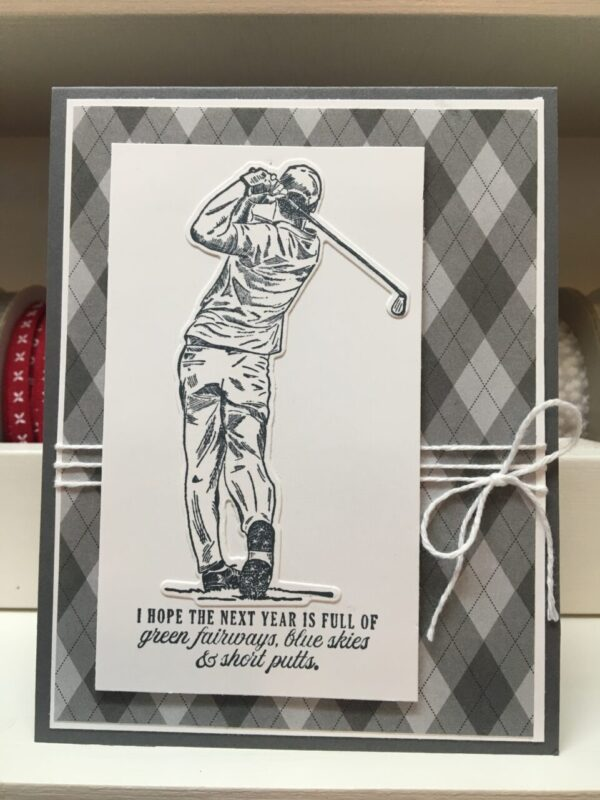 Made in Nevada Golf Themed Cards