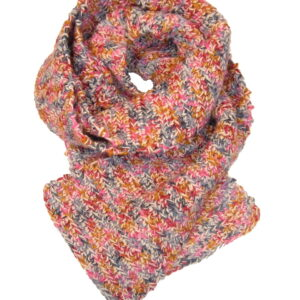 Made in Nevada Carni Loll-y-pop Hand-Crocheted Scarf – Cool Cotton Collection